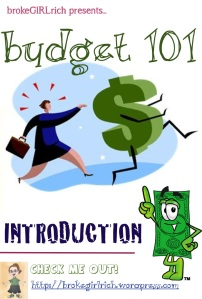 Budget 101: Introduction
