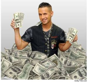 Do Be This Dude - Sitting on a Pile of Money