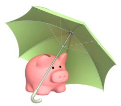 Those rainy days you were saving for are right around the corner. How happy is your piggy bank?