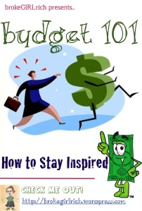Budget 101: How to Stay Inspired