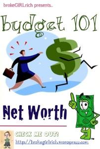 Budget 101: Net Worth