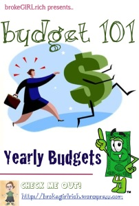 Budget 101: Yearly Budgets