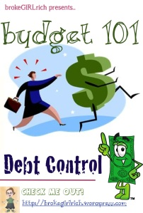 Budget 101: Debt Control