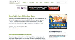 The Simple Dollar - A Great Personal Finance Website